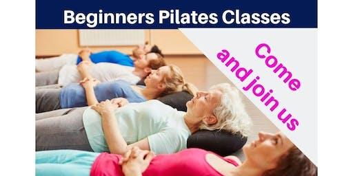 Beginners Pilates free trial class