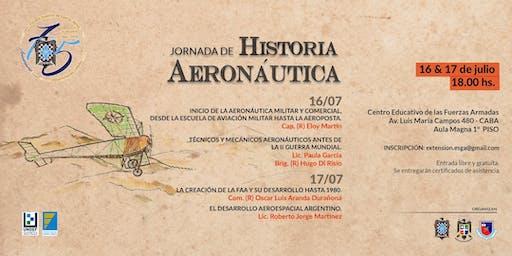Jornada de Historia Aeronáutica