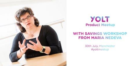 Manchester Yolt Fintech Meetup & Workshop with The Money Principle tickets