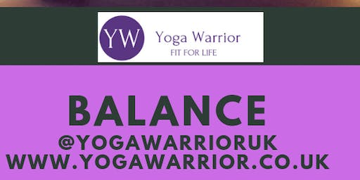 Yoga Warrior Balance Workshop