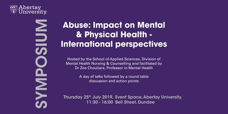 SYMPOSIUM: Impact of Abuse on Mental and Physical Health tickets