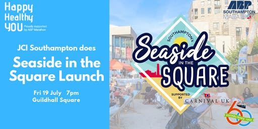 JCI Southampton does Seaside in the Square Launch Event