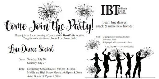 Line Dance Social! Learn line dances, snack & make new friends!