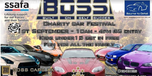 BOSS Charity Car Festival - Denbies Wine Estate - 1st September in Dorking