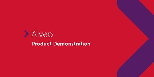 Alveo | Product Demonstration (QLD & NT only)