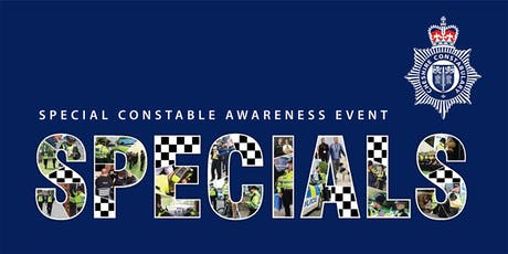 Special Constable awareness event tickets