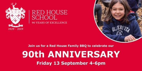 Red House School 90th Anniversary Family BBQ tickets