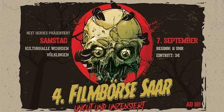 """4. Filmbörse Saar - """"Uncut & Unzensiert"""" Tickets"""