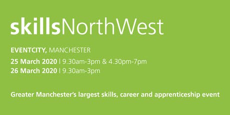 Skills North West 2020 - School / College Registration  tickets