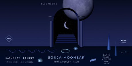 Blue Moon 5 : Sonja Moonear at Ithaki Beach, Moni tickets