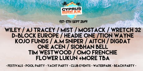 Cyprus Break September 1st-8th 2019 tickets