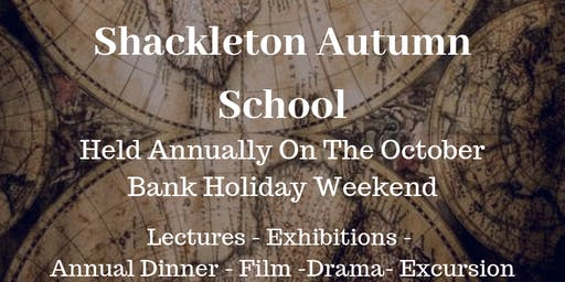19th Ernest Shackleton Autumn School