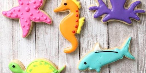 Sea Creatures Cookie Class