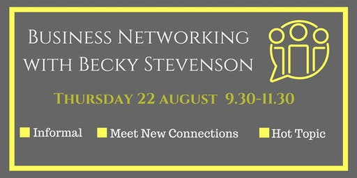 Business Networking with Becky Stevenson