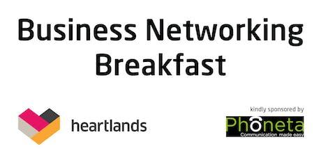 Heartlands August Business Networking Breakfast tickets