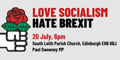 Love Socialism Hate Brexit - Edinburgh tickets
