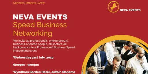 Speed Business Networking Event