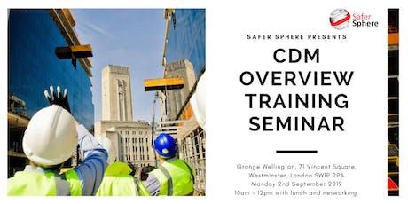 CDM Overview Training Seminar tickets