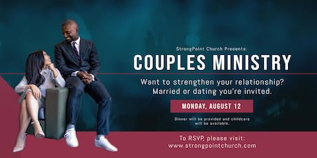 Couples Minstry tickets