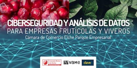Ciberseguridad y análisis de datos para empresas frutícolas y viveros entradas