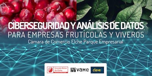Ciberseguridad y análisis de datos para empresas frutícolas y viveros