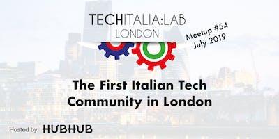 TechItalia London Meetup #54 July