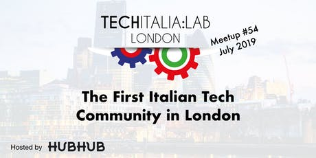 TechItalia London Meetup #54 July tickets