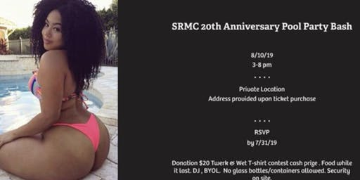 SRMC 20th Anniversary Pool Party
