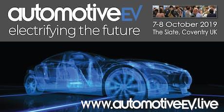 Automotive EV tickets