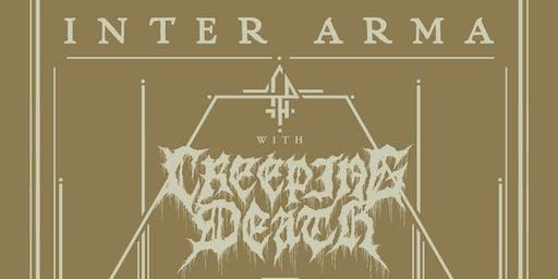 INTER ARMA, Creeping Death, Come To Grief & Glacier