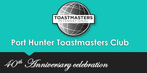 Port Hunter Toastmasters 40th anniversary lunch