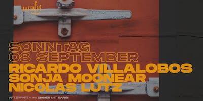 Ricardo Villalobos, Sonja Moonear, Nicolas Lutz am Hafen 49