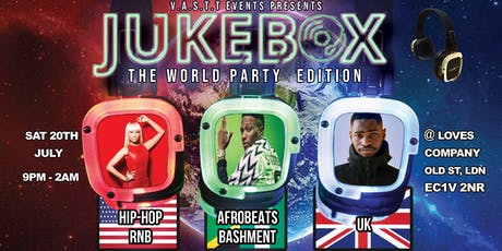 Jukebox: The Headphone Party (World party edition) tickets