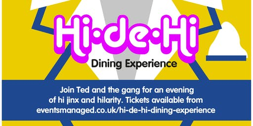 Hi-De-Hi Dining - Venue Cranfield