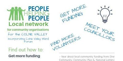 People Helping People Network Meeting with Colne Valley Ward Forum