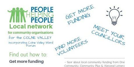 People Helping People Network Meeting with Colne Valley Ward Forum tickets