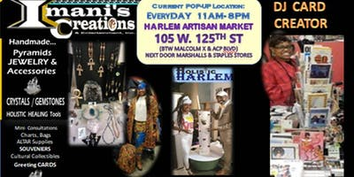 CRYSTALS, GEMSTONE JEWELRY, HOLISTIC HEALING TOOLS & MORE with Imani's Creations this SUMMER!
