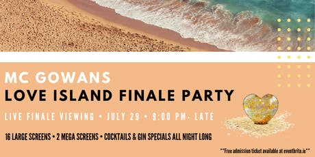 Love Island Finale PARTY tickets