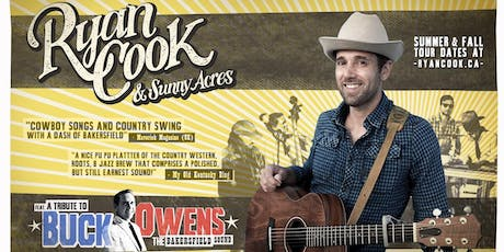 Ryan Cook & Sunny Acres ft. a Tribute to Buck Owens billets