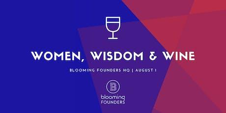 Women, Wisdom & Wine - A Networking & Peer Mentoring Evening tickets
