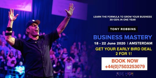 Tony Robbins Business Mastery Amsterdam 2020