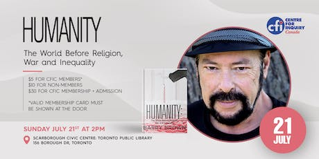 Author Talk: Humanity: The World Before Religion, War and Inequality. tickets