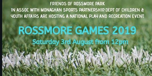 Rossmore Games 2019