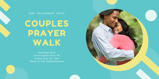 Couples Prayer Walk