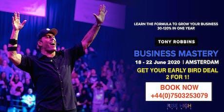 Tony Robbins Business Mastery Amsterdam 2020 tickets
