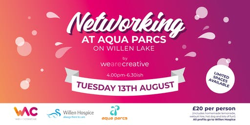 WAC2 Networking at Aqua Parcs Willen Lake