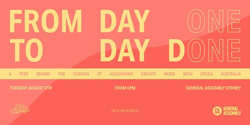 #TDKtuesdays August - Accompany Group - 'From Day One to Day Done'