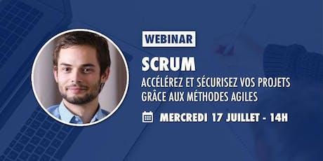 Scrum : accélérez et sécurisez vos projets grâce aux méthodes agiles billets