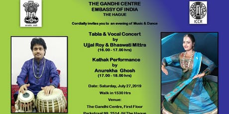Tabla Concert by Ujjal Roy & Kathak Performance by Anurekha Ghosh tickets