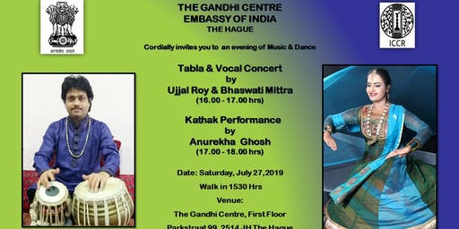 Tabla Concert by Ujjal Roy & Kathak Performance by Anurekha Ghosh